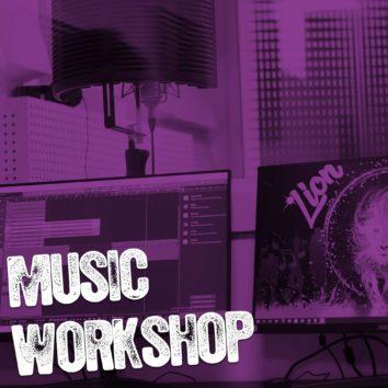 Music Workshop à l'Escale – Enregistrer et mixer sa première chanson !