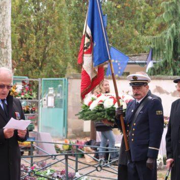 [Covid 19] 11 novembre annulation de la cérémonie mais fleurissement du monument aux morts de la Robertsau