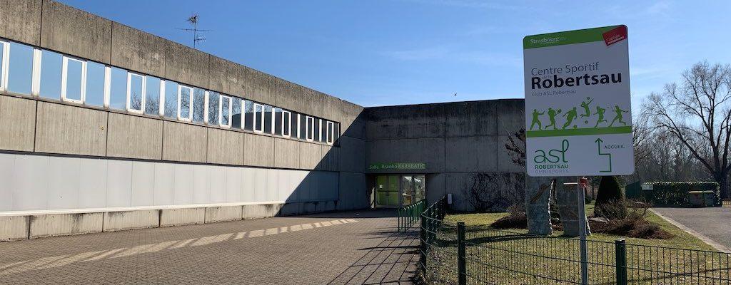 Rénovation du centre sportif de la Robertsau