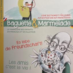 Baguette & marmelade : un nouveau magazine franco-allemand pour les enfants