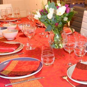 Un repas de fête