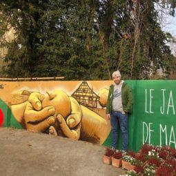 Jardin de Marthe : la fresque est finie