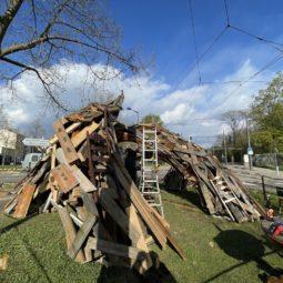 Apollonia : Une œuvre participative à l'entrée de la Robertsau