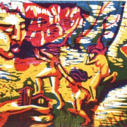 CINE de Bussierre : En voie d'apparition, exposition de Maria Luchankina et Haleh Zahedi,
