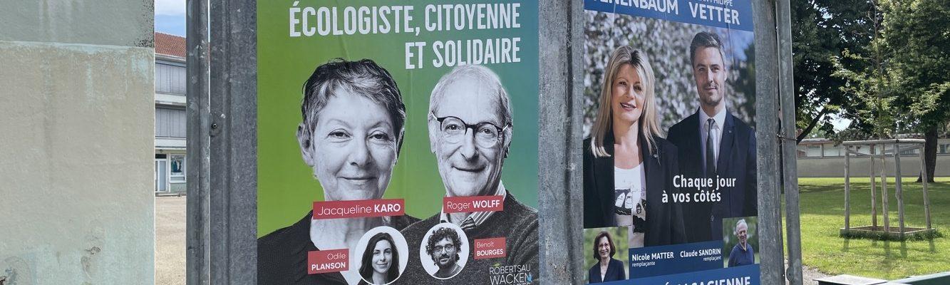 Elections départementales 2021 : sans surprise Anne Tenenbaum et Jean-Philippe Vetter