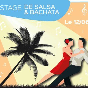 Stage de salsa & bachata à l'Escale