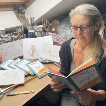 Anatole et Plouf : un livre jeunesse de Claudine Malraison