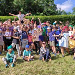 Scouts de la Robertsau : un camp groupé d'été à Plaine